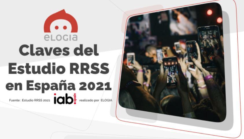 Infografía Claves Estudio RRSS 2021